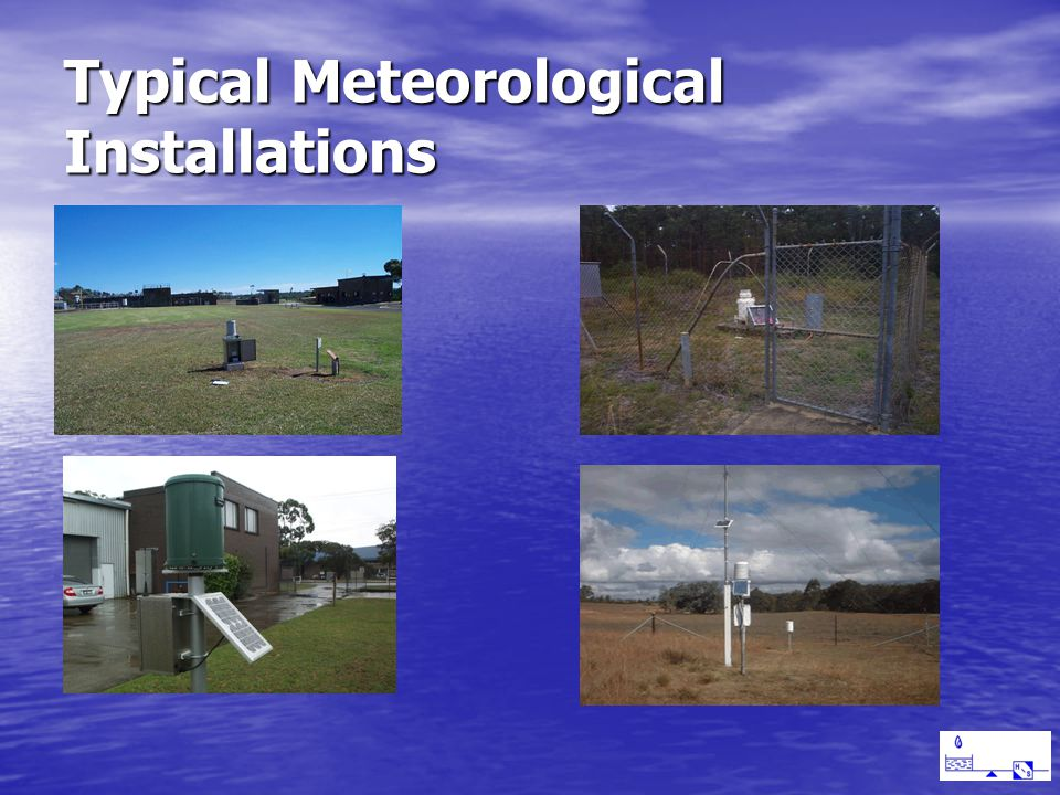Typical Meteorological Installations