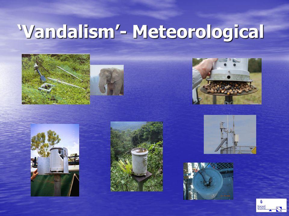 Vandalism- Meteorological