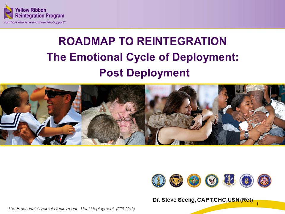 The Emotional Cycle of Deployment: Post Deployment (FEB 2013) 1 ROADMAP TO REINTEGRATION The Emotional Cycle of Deployment: Post Deployment Dr.
