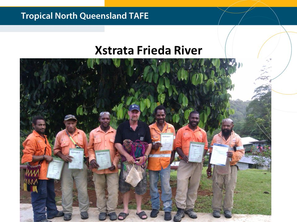 TAFE Queensland Xstrata Frieda River