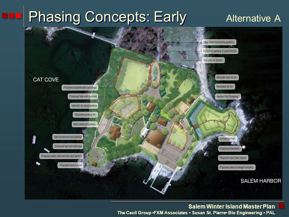 Salem Winter Island Master Plan The Cecil Group FXM Associates Susan St.