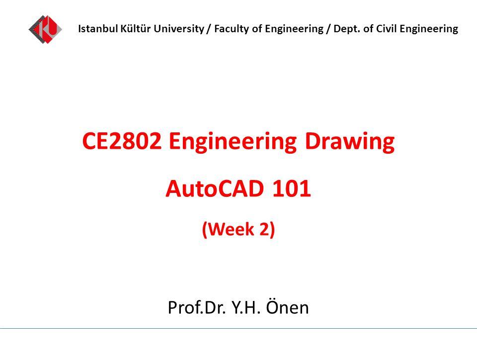 Istanbul Kültür University / Faculty of Engineering / Dept.