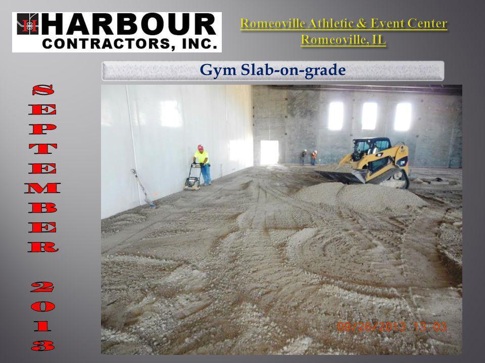 Gym Slab-on-grade