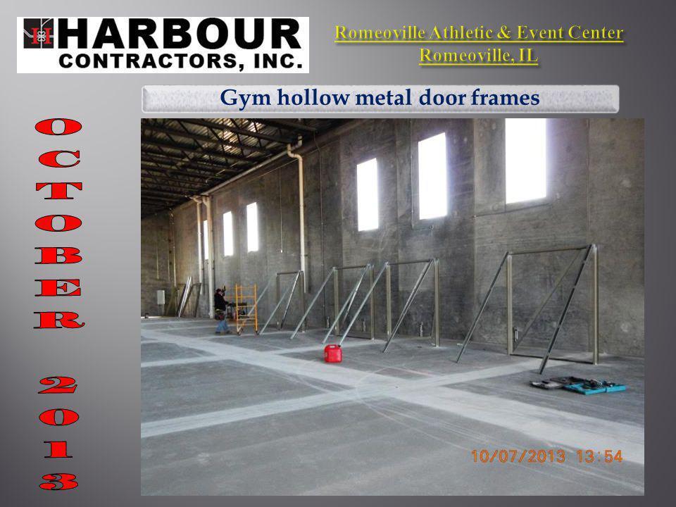 Gym hollow metal door frames