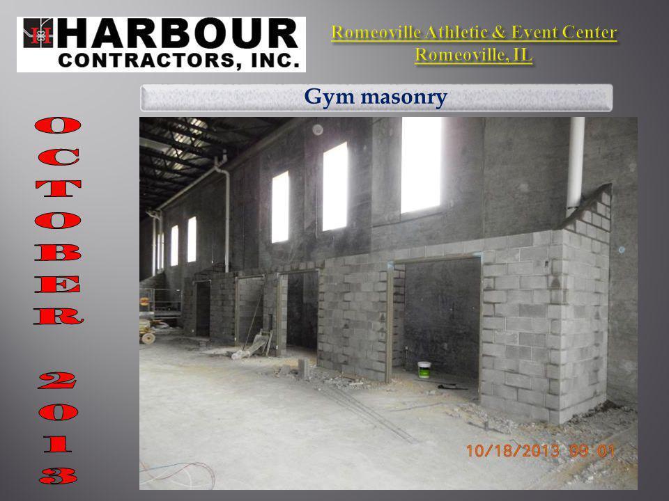 Gym masonry