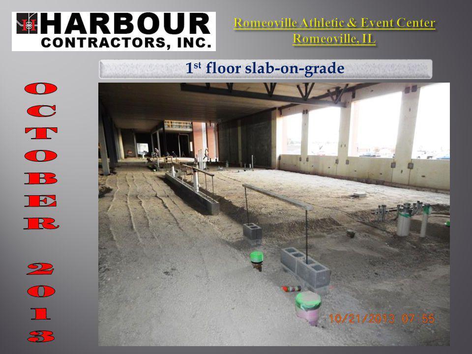 1 st floor slab-on-grade