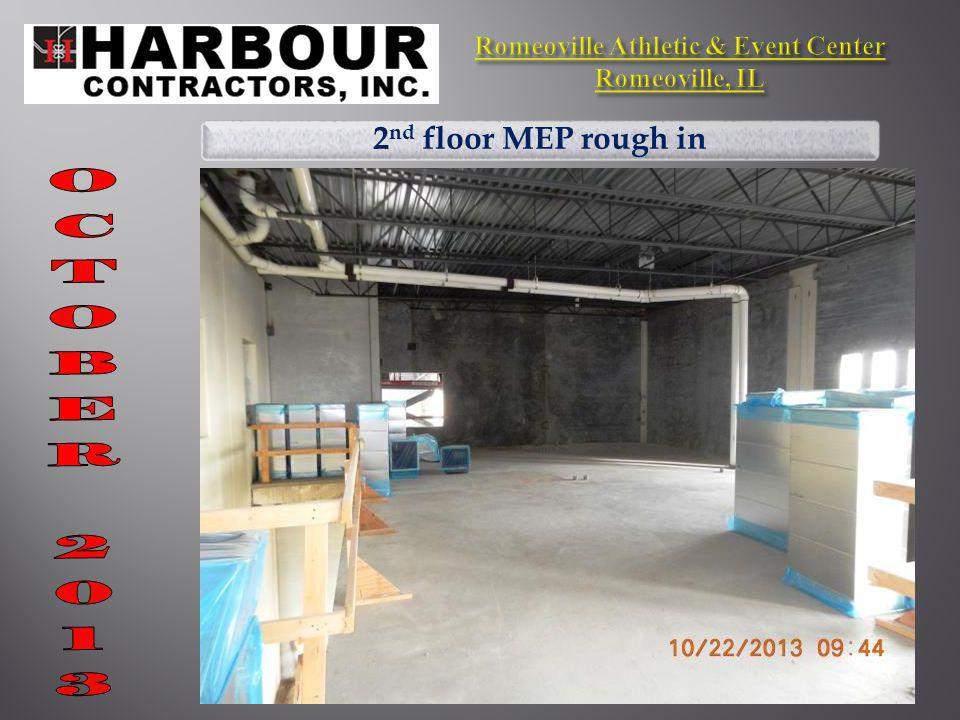 2 nd floor MEP rough in