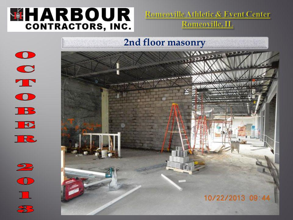2nd floor masonry