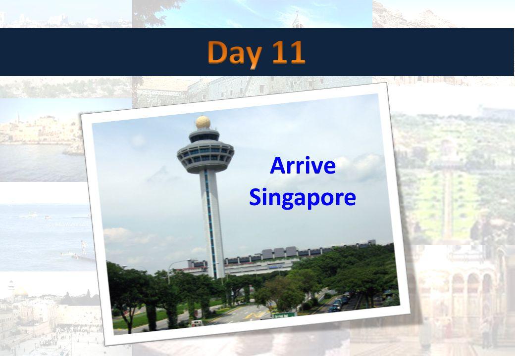 Arrive Singapore