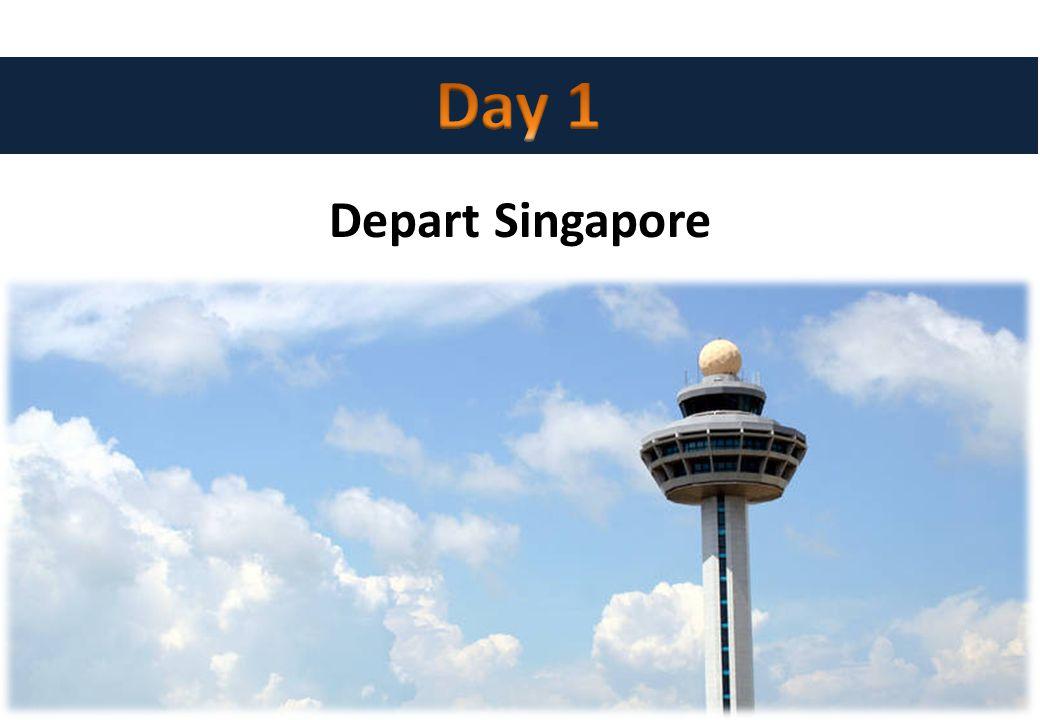 Depart Singapore