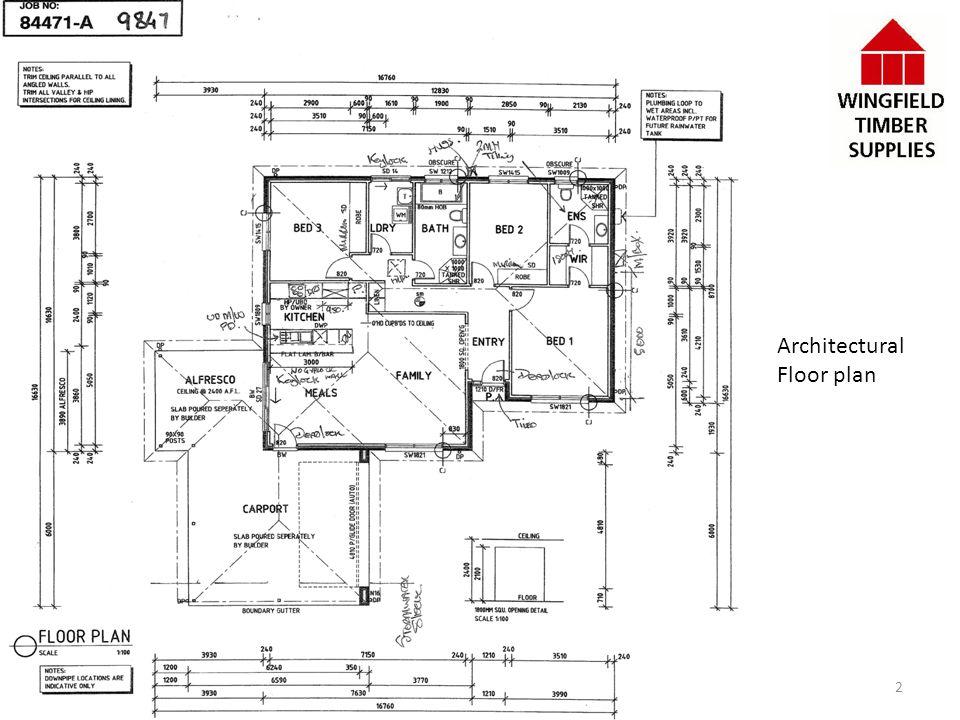 Architectural Floor plan 2