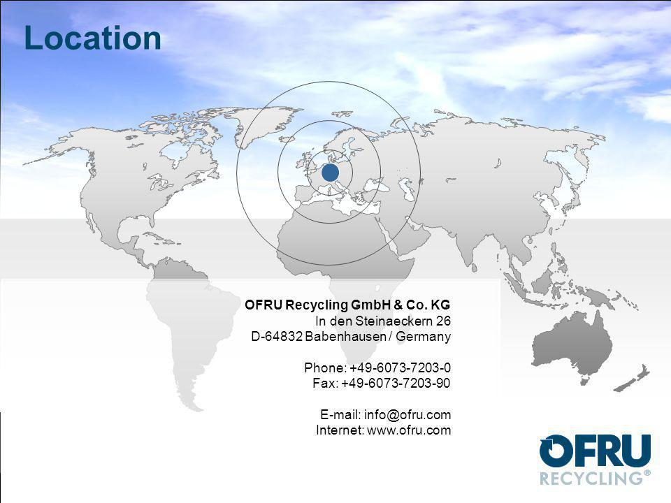 Location OFRU Recycling GmbH & Co.