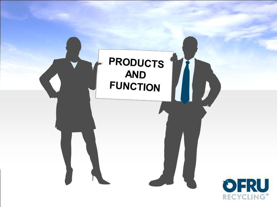 PRODUCTS AND FUNCTION