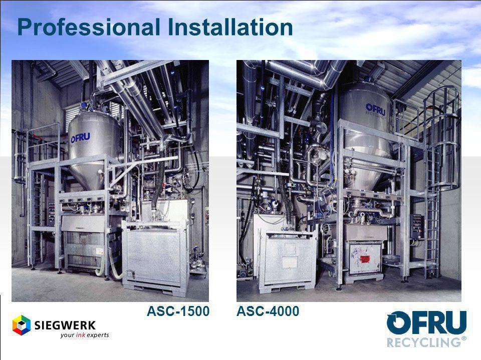 Professional Installation ASC-1500ASC-4000