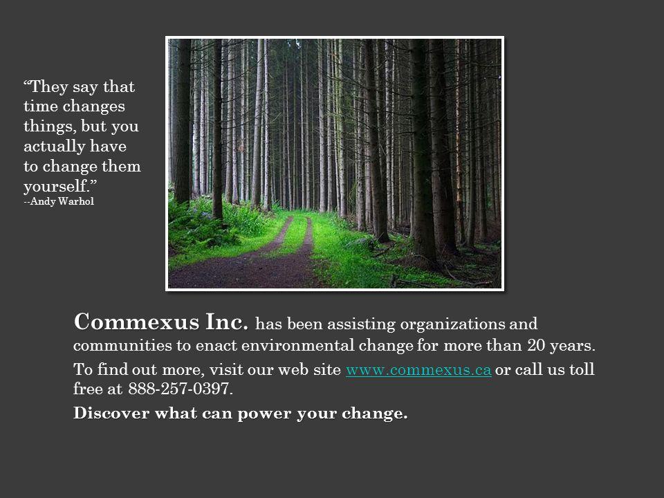 Commexus Inc. Commexus Inc.
