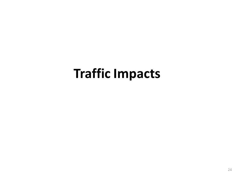 Traffic Impacts 24