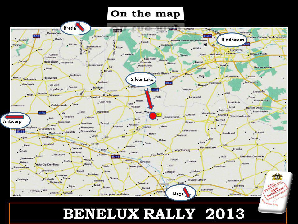 BENELUX RALLY 2013 Antwerp Eindhoven Breda Silver Lake Liege