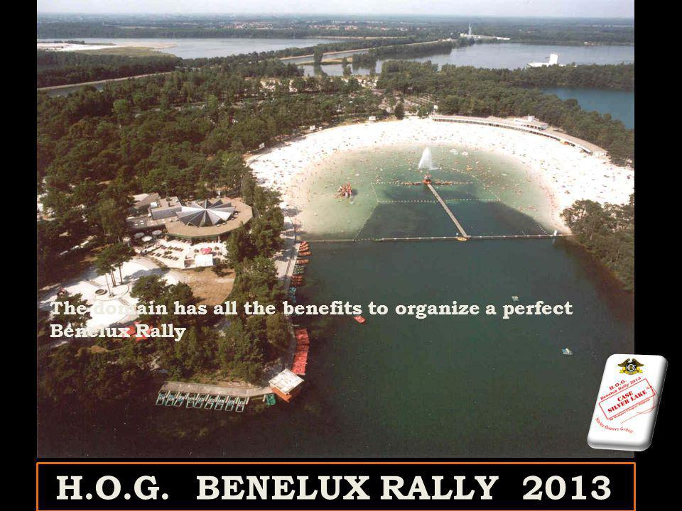 The domain has all the benefits to organize a perfect Benelux Rally