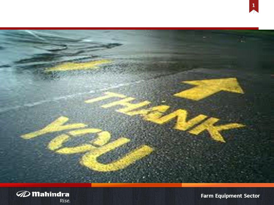 Farm Equipment Sector 1717 Thank You!