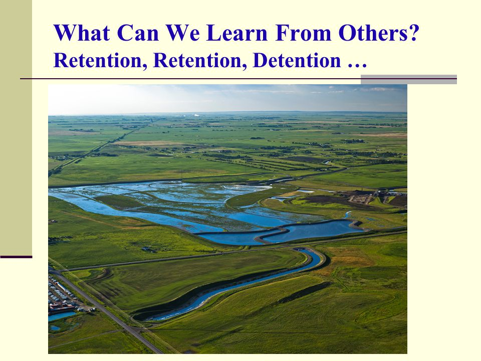 What Can We Learn From Others? Retention, Retention, Detention …