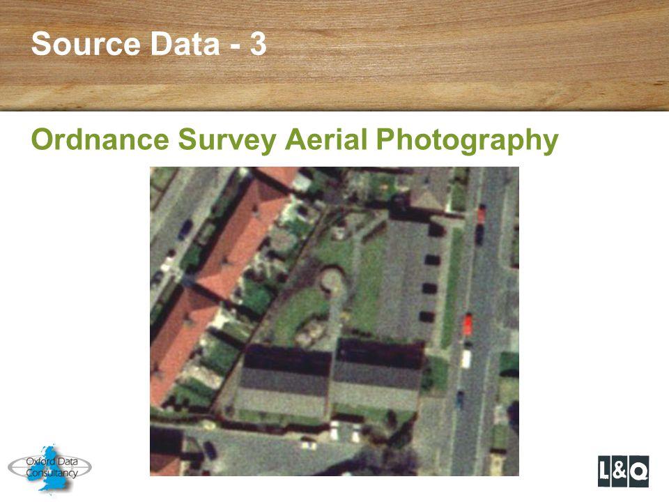 Source Data - 3 Ordnance Survey Aerial Photography