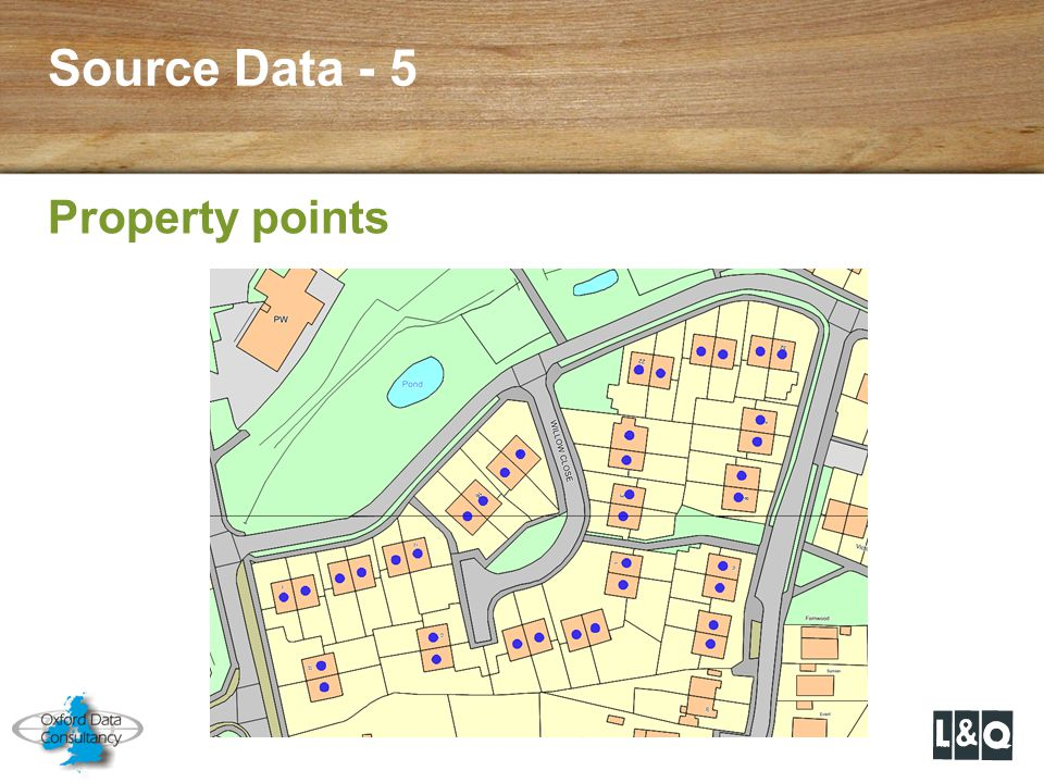Source Data - 5 Property points