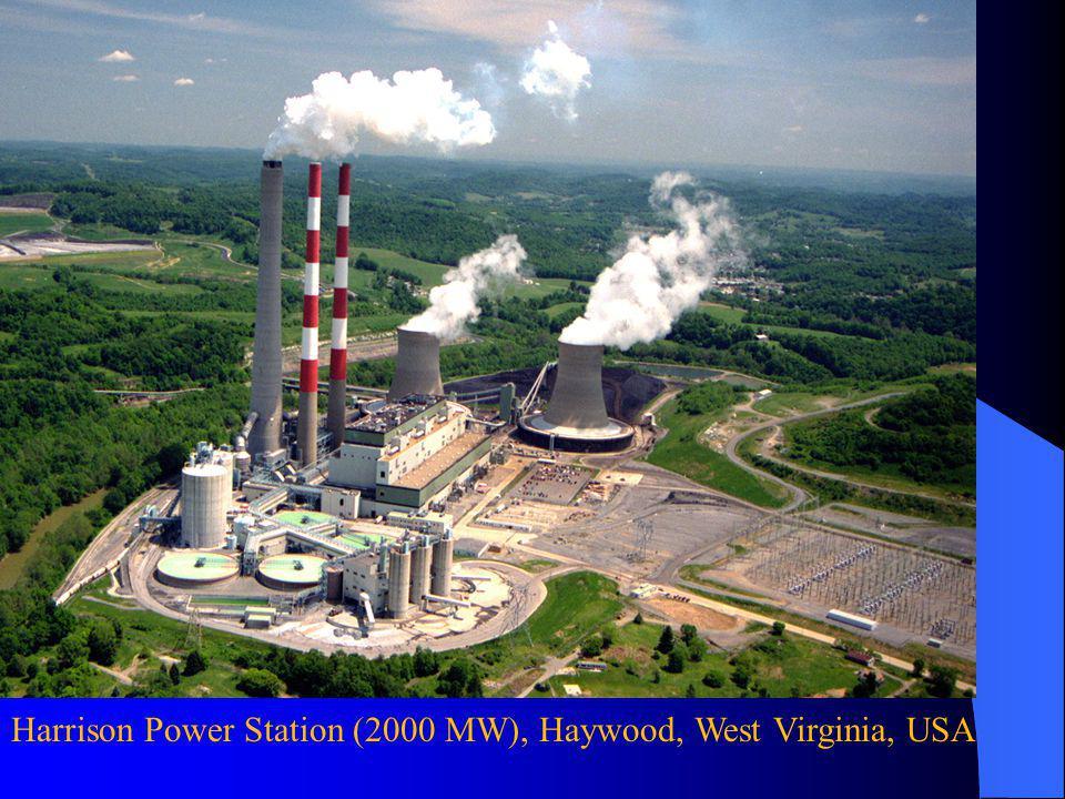 Harrison Power Station (2000 MW), Haywood, West Virginia, USA