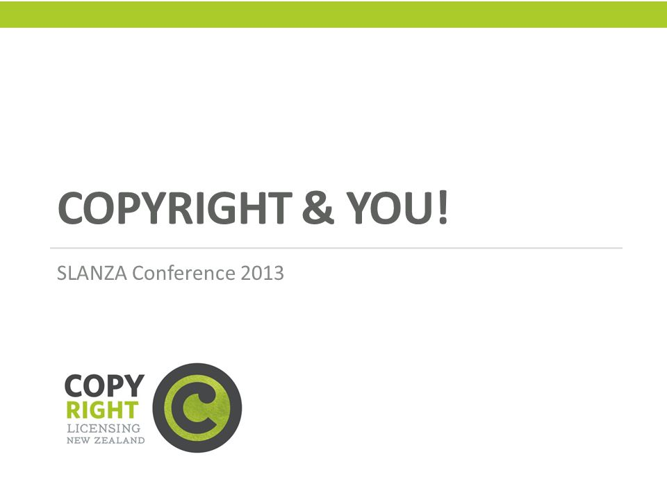 Copyright Ownership A copyright owner has the exclusive right to: Copy Publish Perform Show Broadcast or Authorise….the use of their work