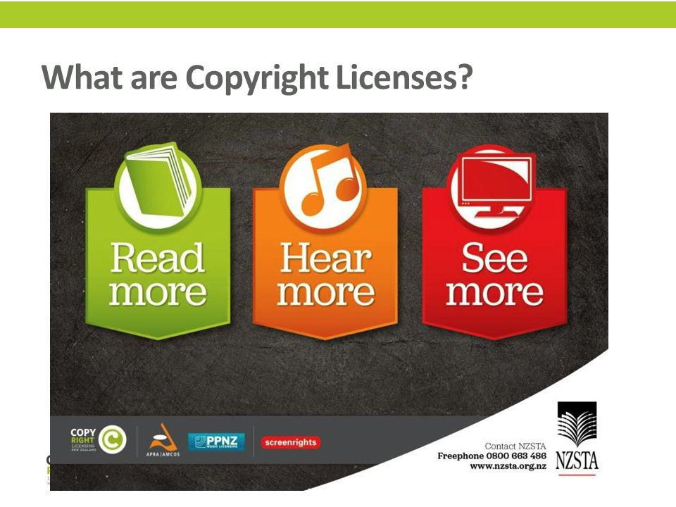 What are Copyright Licenses