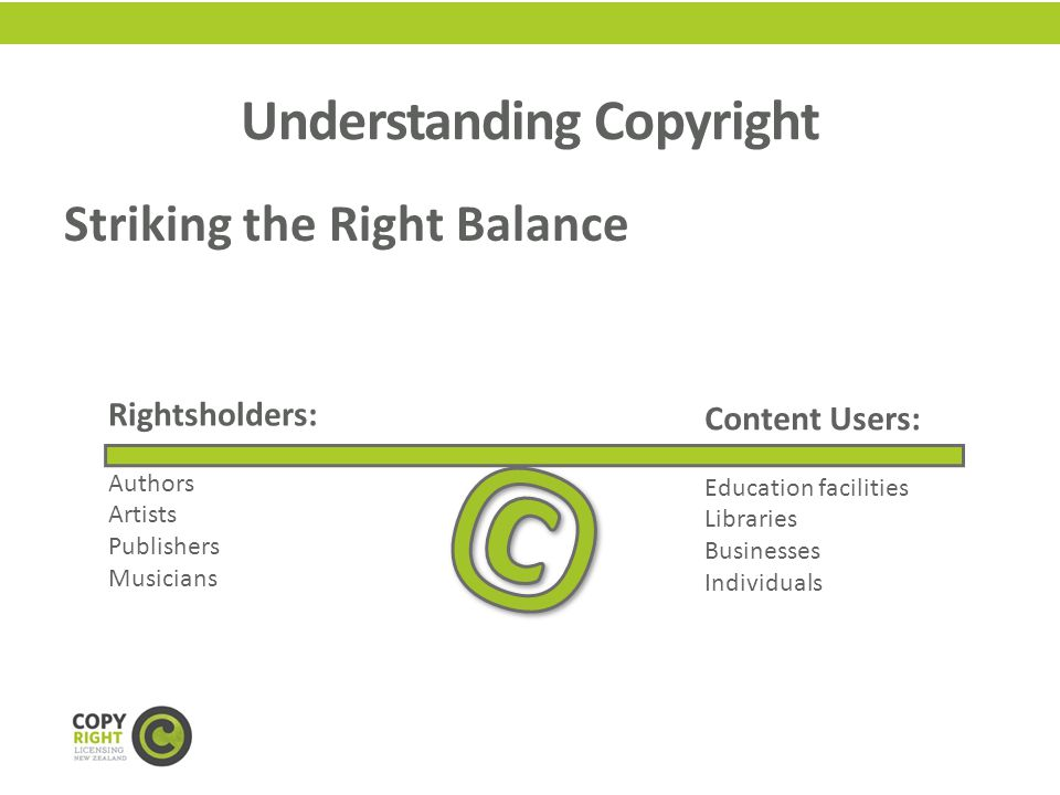 Copyright Definition – simplified.