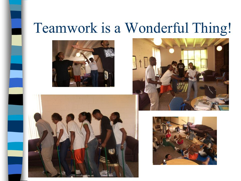 Teamwork is a Wonderful Thing!