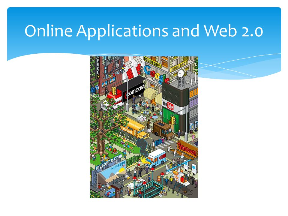 Online Applications and Web 2.0