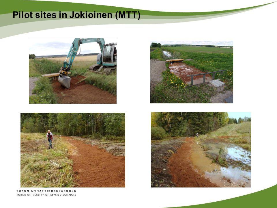 Pilot sites in Jokioinen (MTT)