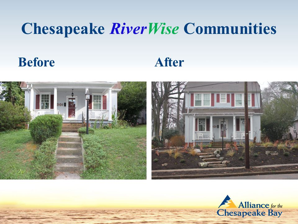 Chesapeake RiverWise Communities BeforeAfter