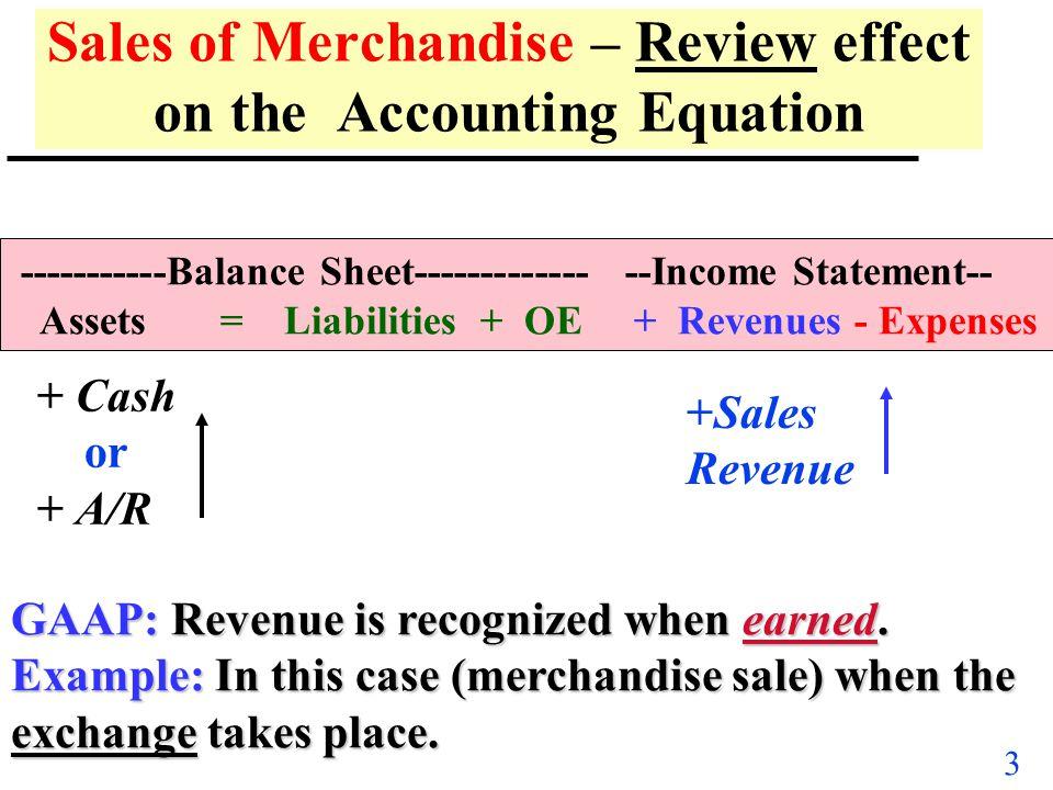 2 Key Concepts & Objectives u Sales Adjustments Net Sales –Discounts: Trade, Quantity & Prompt Pymt. –Returns & Allowances u Inventory Recording Syste