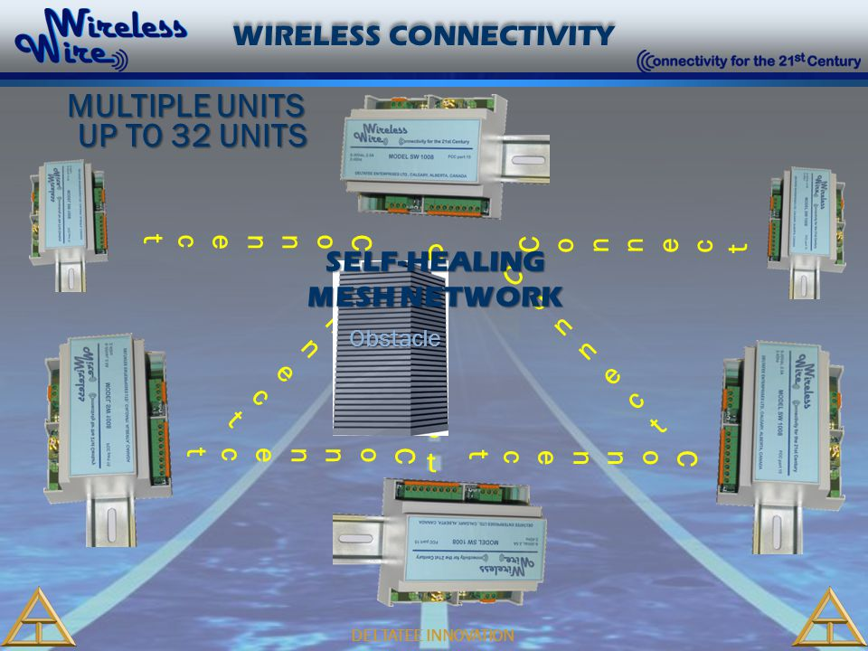 DELTATEE INNOVATION WIRELESS CONNECTIVITY ConnectConnect ConnectConnect ConnectConnect ConnectConnect ConnectConnect ConnectConnect ConnectConnect Obs
