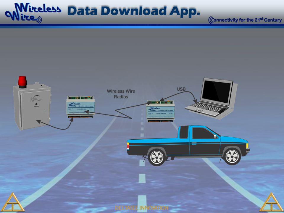 DELTATEE INNOVATION Data Download App.