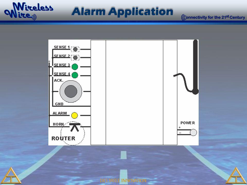 DELTATEE INNOVATION Alarm Application