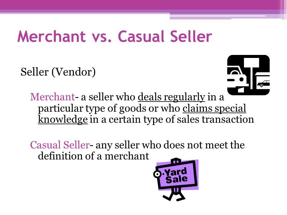 Merchant vs.