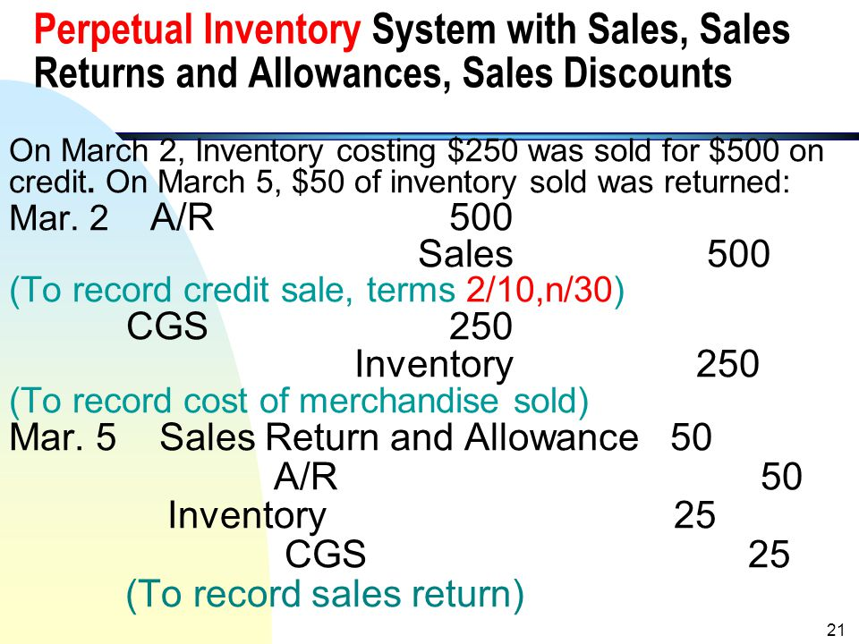 Purchase Invoice/Sales Invoice (see Illustration 5-4 of textbook for an example) Any purchase should be supported by a purchase invoice. Companies usu