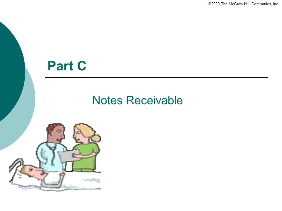 ©2009 The McGraw-Hill Companies, Inc. Part C Notes Receivable