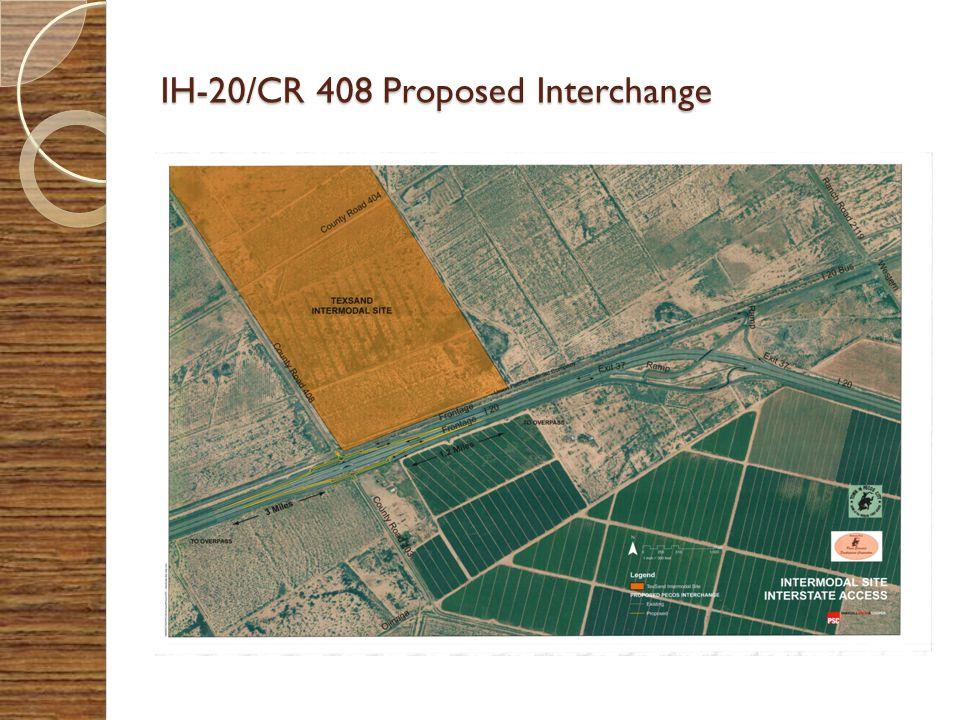 IH-20/CR 408 Proposed Interchange