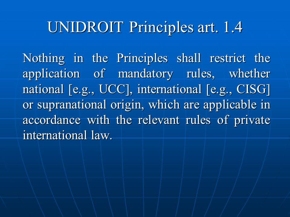 UNIDROIT Principles art.