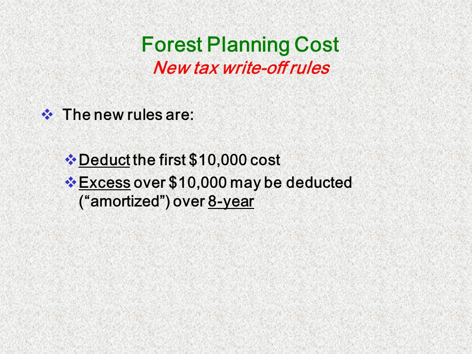 Cost Share Payment Received Exclusion Calculation Last year you harvested 40 acres and received $84,500 for the timber.