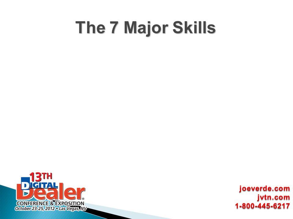 The 7 Major Skills