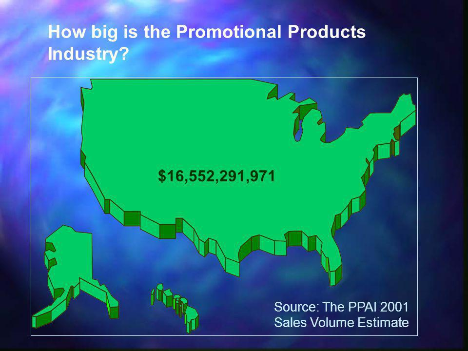 How big is the Promotional Products Industry.