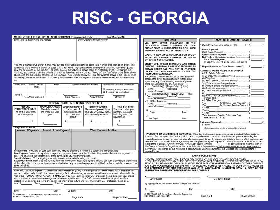 RISC - GEORGIA