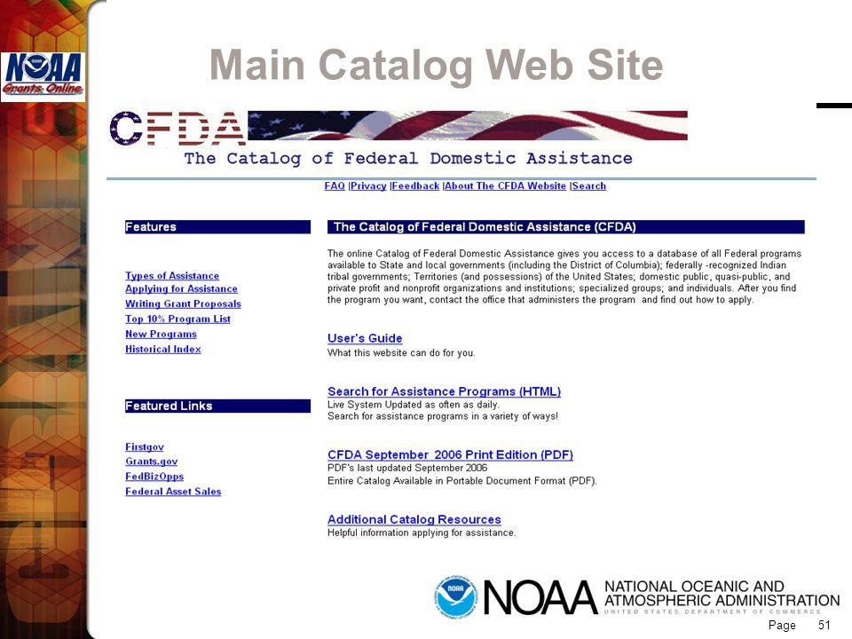 Page 51 Main Catalog Web Site