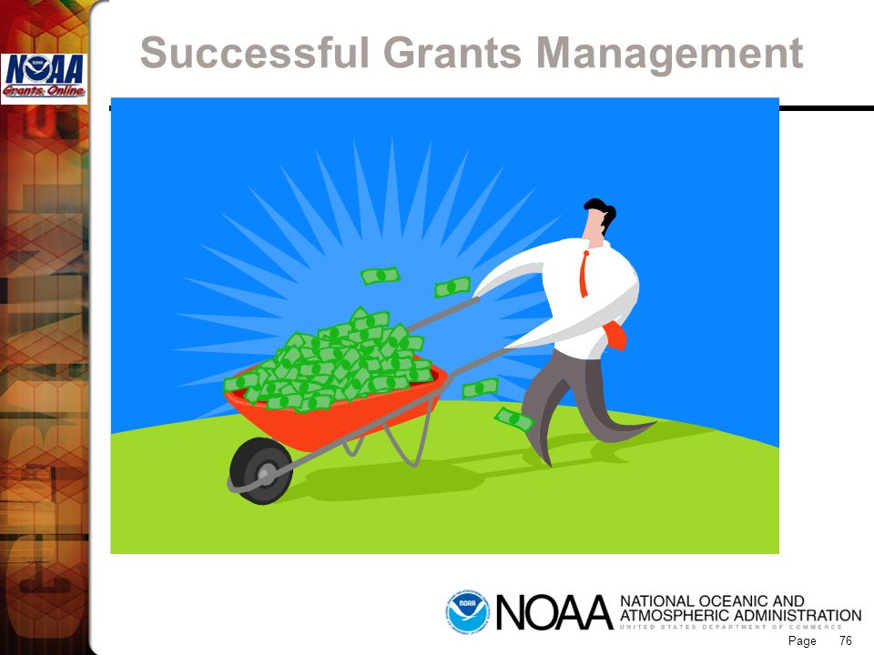 Page 76 Successful Grants Management