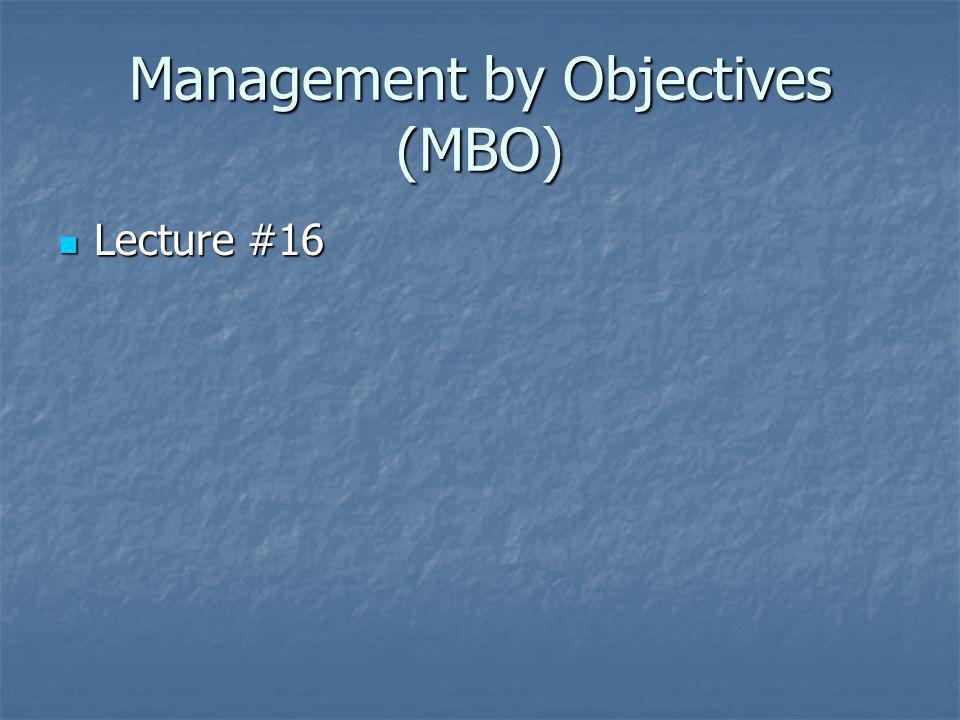 MBO Example Sales Representative Pat Sales Representative Pat